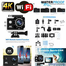 "2"" 4K Ultra HD 16MP Helm Caméra Action Sports DV Wifi Cam étanche 30 m Go Pro"
