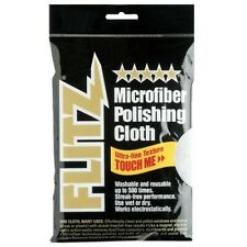 Flitz Mc200 Premium Microfiber Reusable Large Gun Cleaning Polishing Cloth Wipes
