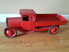 Vintage 1930s Pressed Steel Toy Dump Truck