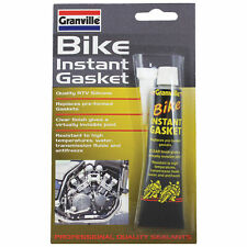 Granville Bike Motorbike Clear Instant Gasket High Temp RTV Flexible Sealant 40g