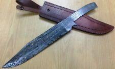 Custom Crafted Knife King's Damascus Steel Rambo III Bowie Blank Blade
