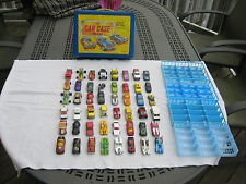 Tara Carrying Case With 48 Hot Wheels, Matchbox & Misc 1:64 Scale Vehicles