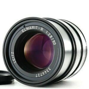 Near MINT Leica Elmarit-r 90mm f/2.8 R 3Cam Portrait Lens For Leica R from JAPAN