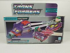 BOX ONLY 1989 MICROMASTER CANNON TRANSPORT G1 TRANSFORMERS DECEPTICON COMBINERS