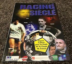 "Revue Racing Club de Strasbourg Football ""Le Racing du siècle"" RC Strasbourg RCS"