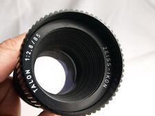 Zeiss Ikon Talon  2,8/85 Projektionsobjektiv mit M42 Anschluss wie 85mm Trioplan