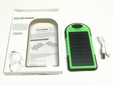 15600mAh Dual USB Portable Solar Panel Battery Charger Power Bank For Cell Phon