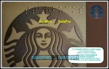 STARBUCKS 2015 SIREN BLIND AWARENESS BRAILLE FR/ENG NEW COLLECTIBLE GIFT CARD