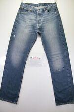 levi's 501 (Cod. M1534) tg50 W36 L36 jeans usato vintage customized