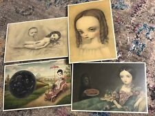 Mark Ryden The Gay 90's set of 4 postcards 1st printing limited
