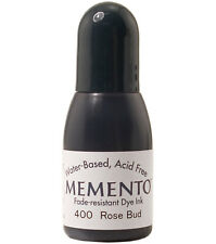 Tsukineko Memento Dye Water Based Ink REFILL Reinker 400 rose bud Pink