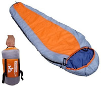 Outdoorsman Lab Mummy Sleeping Bag for Adults & Kids, Ultralight Backpacking & 3