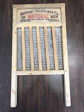 Antique SILVER KING Top Notch No. 824 National Washboard Co Chicago USA Folk Art