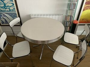 Vintage Retro Tavo Belgium Chairs & American Diner Table 50's 60's 70's