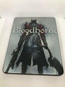 "Bloodborne Steelbook Case PS4 (NO GAME) ""CUSTOM"""