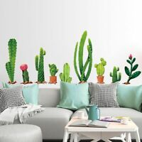 Cactus Wall Stickers Plant Wall Decal Removable Sofa DIY Art Decal Home Decor