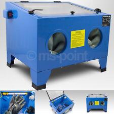 Bituxx Tisch Druckluft Sandstrahlkabine Sandstrahlgerät 90 L Liter Sandstrahlen