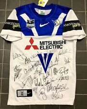 Game Players Team Signed Canterbury Bulldogs   Nike  Jersey Bnwt