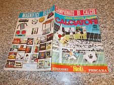 ALBUM CALCIATORI 1968 1969 RELI ORIGINALE PERFETTO EDICOLA COMPLETAMENTE VUOTO