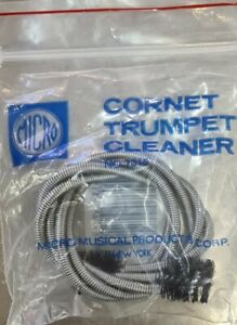 Micro Trumpet Cleaning Brush - Coiled Plated