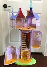 "Rapunzel Tangled Tower Castle 42"" Disney Playset Princess Barbie Dollhouse HTF"