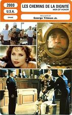 Fiche Cinéma. Movie Card. Les chemins de la dignité/Men of honor (USA) 2000