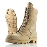 NEW Wellco T930B US Military Desert Tan Hot Weather Jungle Boot, Panama Sole USA