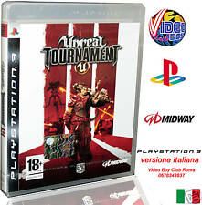 UNREAL TOURNAMENT 3 VERSIONE ITALIANA NUOVO SONY PS3 IT