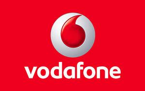 Prepaid  SIM Karte Vodafone UK Großbritannien England / Triple-SIM/ Iphone 4G