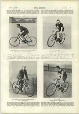 1897 CICLISMO CHAMPIONS PLATT-SCOMMESSE Gould Barden neason Shipton Brown Palmer