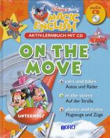 ENGLISCH für KINDER + Disney Magic English + Aktiv Lernbuch mit CD + On The Move