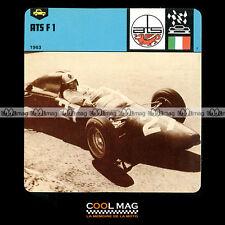 #37.08 ATS F1 FORMULE 1 1963 - Fiche Auto Car Card