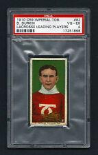 PSA 4 1910 C59 LaCROSSE CARD #82 D. DURKIN