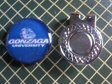 GOLF / Gonzaga University Golf Ball Marker/with Magnet Hat Clip New!!
