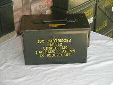 50 Cal Ammo Can Mil-Spec M2A1 Grade 1 Ammo Can, 1(One)  Best On Ebay!