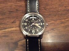 Vintage Victorinox Swiss Army Men's 241397 Infantry Day/Date Automatic Watch HTF