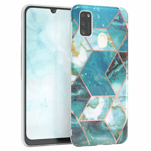 For Samsung Galaxy M30s/M21 Imd Case TPU Phone cover Covermarmor Green