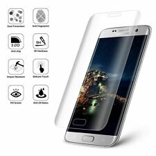 Samsung Galaxy S7 EDGE -100% Curved Screen Protector Tempered Glass- CLEAR