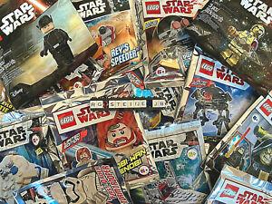 Lego Star Wars Figuren AUSSUCHEN Minifiguren Vader Yoda R2D2 C3PO BB8 Rey Finn