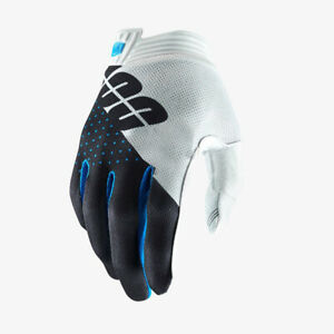 100% Cycling Gloves Full Finger Motorcycle Long OFF-Road MTB Glove White Size L
