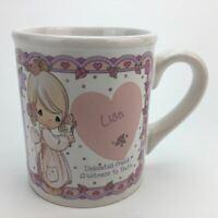Precious Moments Lisa Coffee Tea Mug Cup 10 oz Porcelain