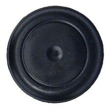 "1 1/4"" 1.25 Inch Black Rubber Flush Mount Plug for Body Sheet Metal Hole  Qty 1"