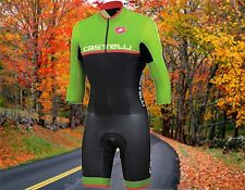 Castelli Cross Sanremo Thermoflex Cyclocross Cycling Speedsuit Men's Large Nwt