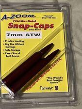A-Zoom Metal Snap Caps * 7mm Stw * 2 per package * 12277