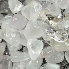 Clear Quartz Tumble Polished Crystal Stone, 1 pc, Sizes 1 to 1.5 Inch, TS973