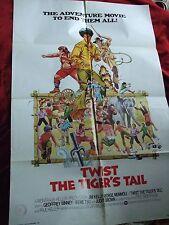 Hot Potato (aka Twist the Tiger's Tail) 1976 US One Sheet Film Poster Jim Kelly