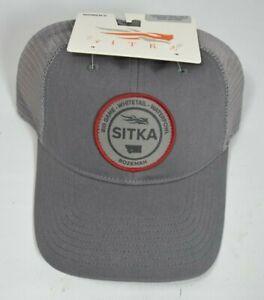 Womens Sitka Seal Trucker Cap Woodsmoke Meshback Snapback Hat OSFA Hunting