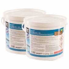 10 kg (2 x 5 kg) Multitabs 20g 5in1 Chlor Multifunktion Tabletten für Pool