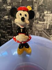 Walt Disney's Minnie Mouse Porcelain Figurine Taiwan Rare