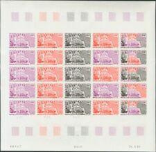 Níger, Aéreo. MNH **Yv 118(25). 1969. 200 f multicolor, hoja completa de veinti